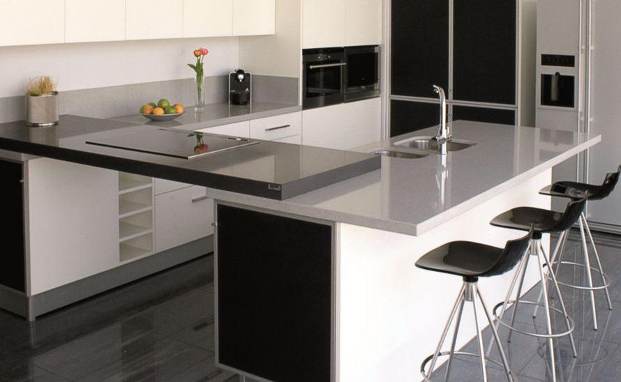 Kuchyňská deska - Technický kámen Quarella v síle střepu 20 mm