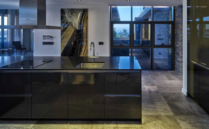 Kuchyňský pult - Slinutá keramická deska 20 mm TechnoArt Stone