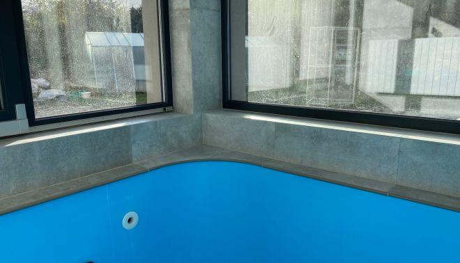Rozpracovaný bazén pro soukromého investora