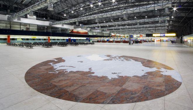 Velkoplošná loga pro Letiště Václava Havla