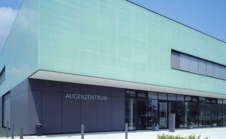 Provětrávaná fasáda ze skleněných desek Magna