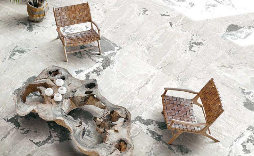 Slinutá keramická dlažba v síle střepu 6 mm - Série Onyx & More - Casa dolce Casa