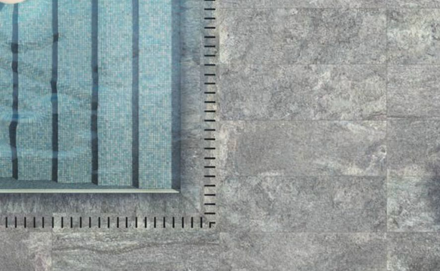 Standardní slinutá dlažba 20 mm