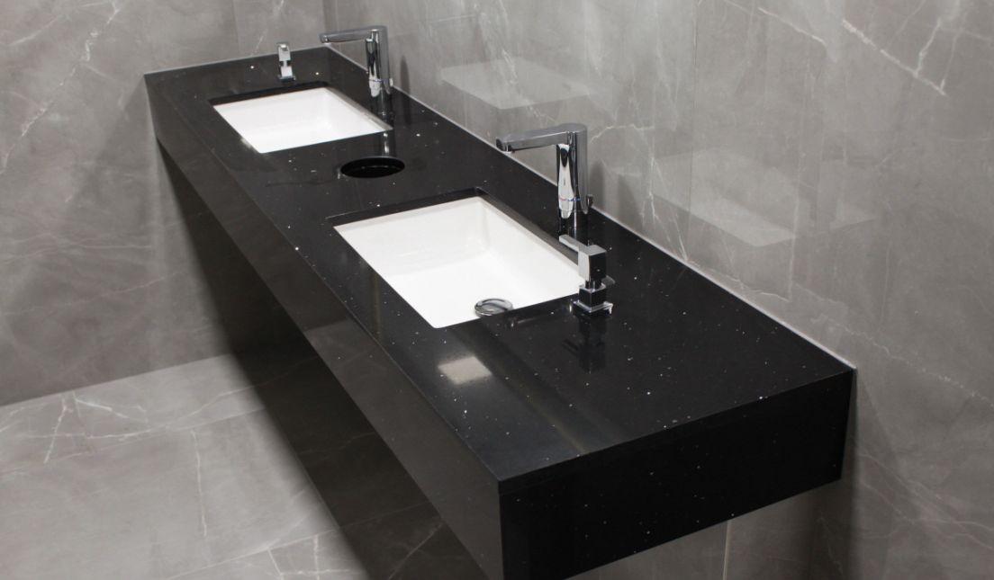 Umyvadlová deska černá - New Living Center - Praha -IMG_9185