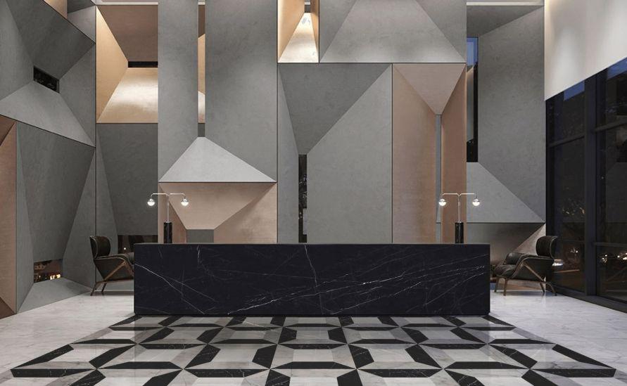 Velkoplošný dekor - Castello