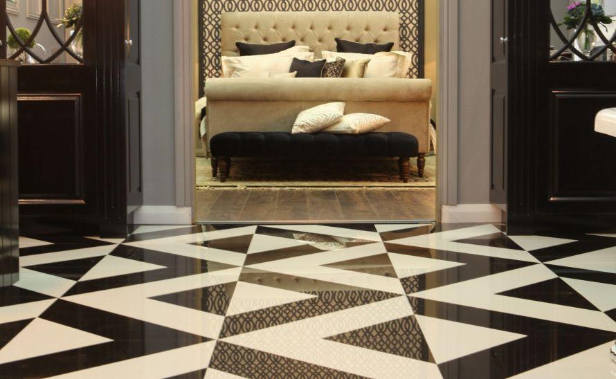 Velkoplošný dekor - Diagonale
