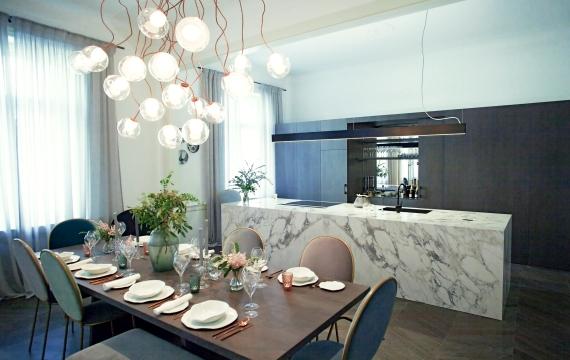 Kuchyňský pult Pařížská